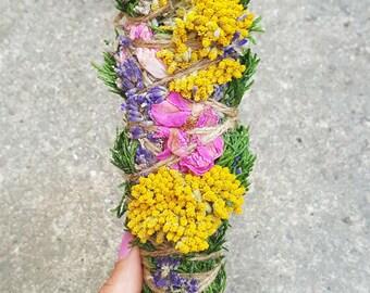 Floral Smudge Stick