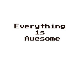 Everything is Awesome/ SVG cut files/ Car decals SVG/ Everything is awesome SVG/ Svg for Cricut /Silhouette svg