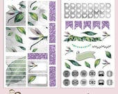 TN MINI Kit | Planner Stickers | Dragonfly | Insect | Floral | Banner | Watercolour | Erin Condren | TN12