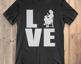 Sewing T-Shirt Gift: Love Sewing