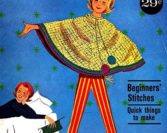 American Thread Star Book 175 Let's Crochet Beginners Stitches Easy Things To Make *PDF Instant Download* E-Book