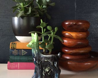 Vintage Llama Ceramic Plant Holder