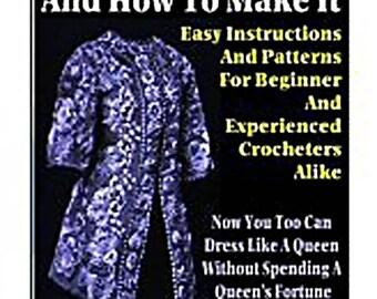 Ebook Irish Crochet And How To Make It - file pdf
