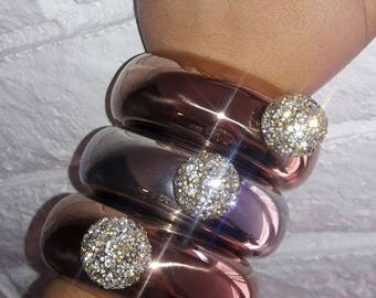 Flask Bracelet, Flask, Bangle Flask, Bracelet Flask, Hip Flask, Valentines Day, Rhinestone Flask, Wine Glass, Cute Flask, Gag Gift