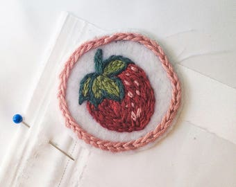 Handmade Strawberry Patch