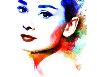 Audrey Hepburn + Marylin Monroe Art Prints-limited editions-years ' 60