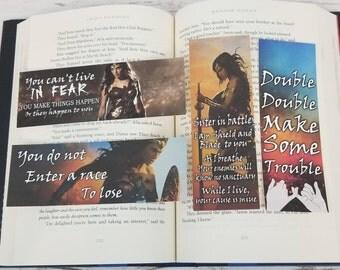 Wonder Woman Warbringer -  Bookish Bookmarks