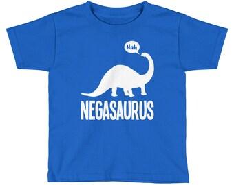 Negasaurus Funny Kid's Dinosaur T-Shirt