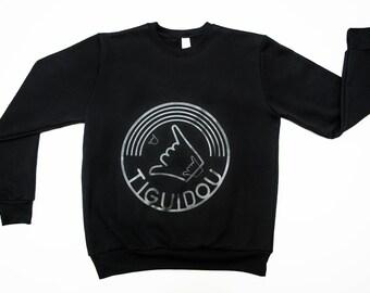 BLACK 100% Canadian TIGUIDOU - size L