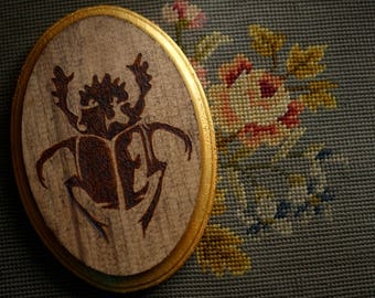 Woodburn Beetle Wall Hanging