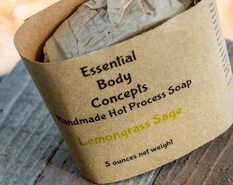 Lemongrass Sage Soap 5 oz