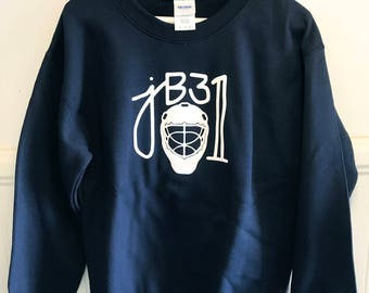 Navy Blue jB31 Crew Neck Sweatshirt