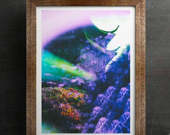 Psychedelic Art Print | DECIDUOUS