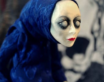 Creepy art doll Stillgeist mystic spirit horror doll