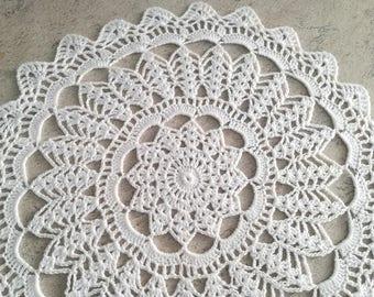 Vintage Style,Crochet Lace Doily,Hand Crocheted Doilies,Handmade Cotton Doily,Wedding Doily,Napkin Boho Bohemian