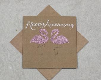 Happy Anniversary Flamingoes
