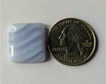 19.70 x 17.50 mm,Octogen Shape Blue Lace Agate Cabochon/Attractive Blue Lace Agate/wire wrap stone//Pendant Cabochon/SemiPrecious Gemstone