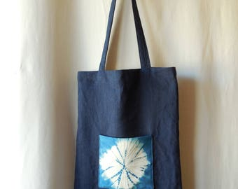 Bag / Tote bag in Indigo