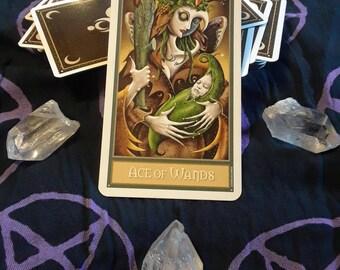 Single Deviant Moon Tarot Card Reading