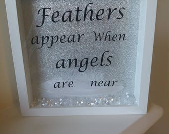 When feathers appear angels are near Frame