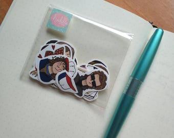 Stranger stickers pack!