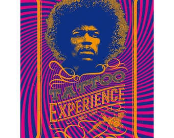 Tattoo Experience Poster