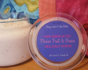 Whipped Pink Himalayan Sea Salt Scrub - Passion Fruit & Guava
