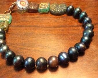 Bracelets de Gipsy vert