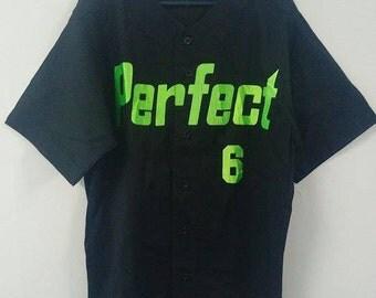 SPALDING PERFECT 6 Shirt size Large | Spalding NBA Street Basketball
