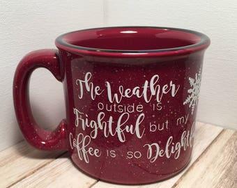 Winter Mug- Ready to Ship