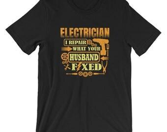 Electrician Shirt, Electrician tee, Electrician job, Electrician gifts, Electrician work, Electrician shirt, gift for Electricians