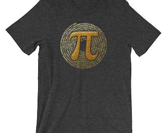 "Premium ""Pi Spiral 3.14"" Cool Pi Day Shirt | Pi Shirt | Math Geek Shirt | Math Shirt | Math Nerd Shirt"
