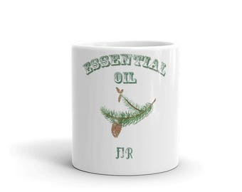 Essential Oil Fir Mug
