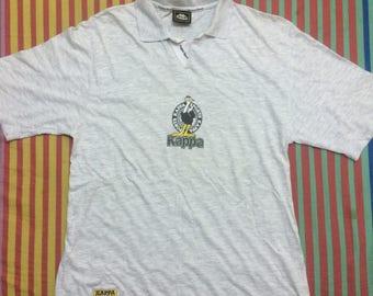Vintage Kappa Sports Big Logo Big Spell Out Single Stitch Shirt