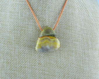 BumbleBee Jasper pendant.