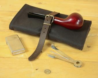 Tobacco Pipe pouch/cigarette case/smoking Accessories/pipe case/Tobacco Case/Moleskine Case/Passport case/cigarette case