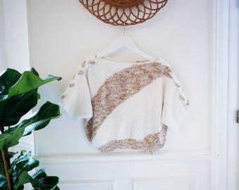 Short knitted Top