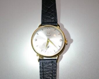 Omega Gold 18kt Manual Wind Mechanical Watch
