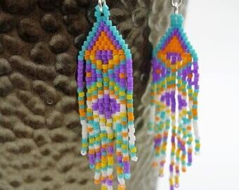 Earrings Indian spirit