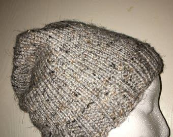 Grey Tweed Hat  (Teen/Adult)