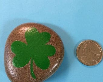 St. Patrick's Day Shamrock Rock