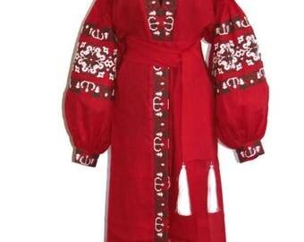Kaftan Dubai Abaya Dress Vyshyvanka Dress Bohemian Clothing Custom Boho Dress Chic Nationale Ukraine Boho Vishivanka Ukrainian Embroidery