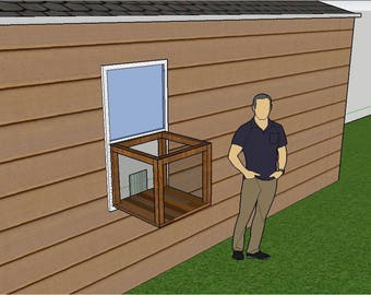 Window Perch Building Plans