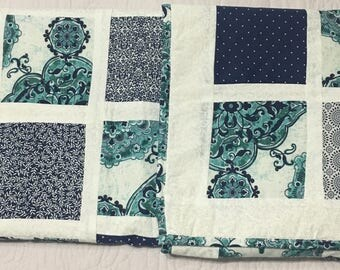 Blues Baby Quilt