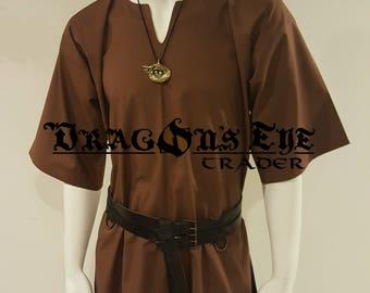 Basic Short Sleeve Cotton Tunic