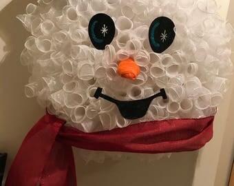 Snowman w/ Scarf