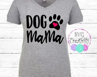 Dog Mama SVG, Dog Mom SVG, Fur Mama SVG