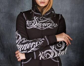 """Woman's hoodie """"SINNER's BONES"""""""