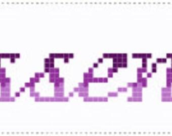 Outlander Sassenach Bookmark Cross Stitch (PDF pattern)
