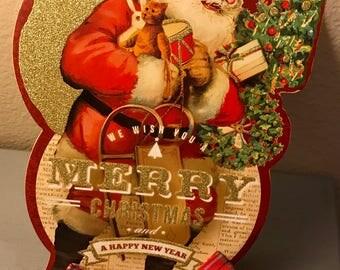 Santa's Little Helper Bow Tie
